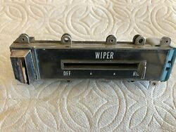 1965 1966 Cadillac Windshield Wiper Switch W/lever And Button - Just As Pictured