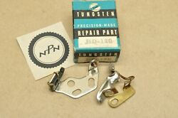 Nos Vtg Tungsten Harley Davidson Knucklehead Ul Wl Wla Ignition Contact Points