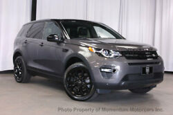 2016 Land Rover Discovery Sport AWD 4dr HSE AWD 4dr HSE THIRD ROW SEATS AND BLACK DESIGN PACKAGE SUV Automatic Gasoline 2.0L