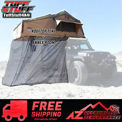 Tuff Stuff 4x4 Elite Overland Roof Top Tent And Annex Room 5 Person Universal