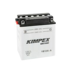 Kimpex Heavy Duty Battery Ref. Yb12a-a 12 Volts Atv Motorcycle