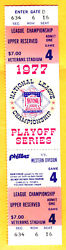 Clincher/gorgeous Full Ticket-1977 Nlcs Gm4-phillies/dodgers-carlton/tommy John