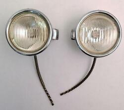 Vintage 1920and039s 1930and039s Fender Cowl Lights Hot Rod Rat Studebaker Ford Chevy Nash