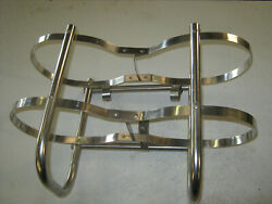 Cuddy Cruiser Polished Stainless Steel Bumper Holders