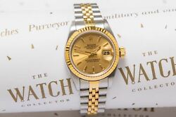 Rolex Ladies Datejust ref 69173 With Rolex Papers