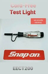 Snap On Cord Free Circuit Tester 3-24v Dc New, Clear Handle Eect200