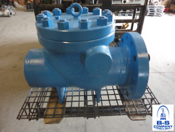Crown Judd Swing Check Valve 8 600 Rf Flanged X Bevel End Lf2 X Stainless