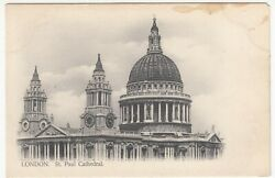 London St Paul's Cathedral Ppc, Unused, By Deyring-honnest, C 1900 - 1905
