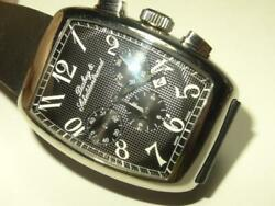 Dubey And Schaldenbrand Aerochrono Mens St. Steel Chronograph Watch - Box Papers