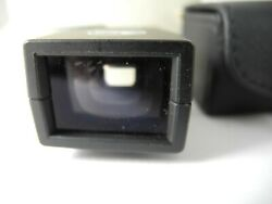 Leica 35mm Viewfinder Perfect Glass Very Clean Nice Boxed With Case Rare Plastic