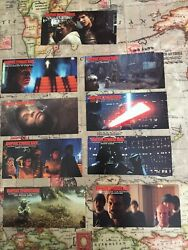 Rare STAR WARS EMPIRE STRIKES BACK 70mm FILM CEL Set Of 9 Test Cards