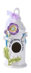 Spring Dream Guide Candle House Dragonfly By Heather Goldminc Blue Sky Clayworks
