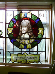 Reclaimed Stained Glass Window Ref 025