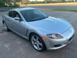 2007 Mazda RX-8 Sport 4dr Coupe (1.3L 2rtr 6M) 2007 Mazda RX-8 Silver with 132760 Miles available now!