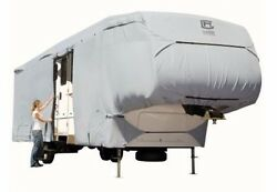 Permapro 5th Wheel Rv Cover Xtall Fits 33 And039- 37and039 Ft And 135and039and039 Max.height - Grey