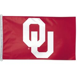 Oklahoma Sooners 3x5 Flag Banner Ncaa College Single Sided Sports Outdoor Fan