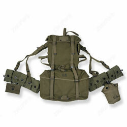 Wwii Us Army M1945 Elite Mountain Troops Canvas Rucksack Soldier Equipment Repro