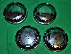 🔥 68 69 70 71 Chevy Impala Belair Biscayne Copo Dog Dish Poverty Hubcaps 10-1/2