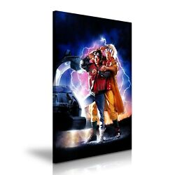 Back To The Future Ii Movie Modern Home Art Canvas 5 Sizes To Choose