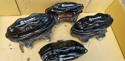 06-10 Jeep Grand Cherokee SRT8 OEM Brembo Brake Caliper Set wOEM Pads