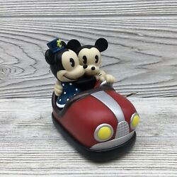 Schylling Toys Disney Mickey And Minnie Mouse Battery Opperated Bumper Car Toy