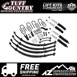 Tuff Country 3.5 Ez Ride Lift Leaf Spring Sx6000 87-95 Jeep Wrangler Yj 44800kh