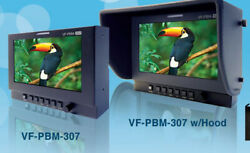 Plura Vf-pbm-307 Viewfinder Package For Hitachi Broadcast Cameras Only 7 Hdtv