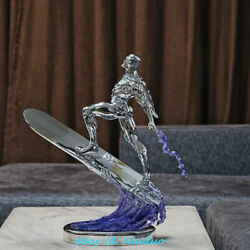 1/4 Scale Silver Surfer Statue Resin Gk Fantastic Four Avengers Collectible New
