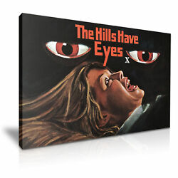 The Hills Have Eyes Movie Poster Canvas Modern Art 5 Size To Choose