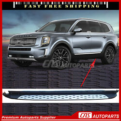 ⭐⭐⭐⭐⭐running Boards Side Steps Nerf Bar Protectors For 2019-2021 Kia Telluride