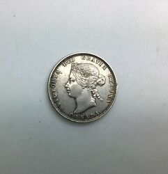 1881 H Canada 25 Cents Better Date Collector Coin Better Grade