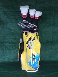 Ladies TaylorMade Burner RBZ Irons Driver Woods New Bag Complete Golf Club Set R