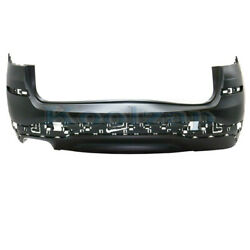 15-17 X3 W/o M Sport And W/x-line Rear Bumper Cover Assembly Single Exhaust Cutout