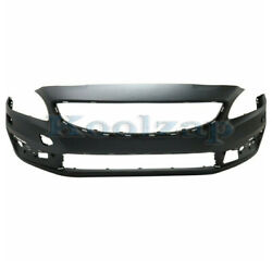 For 14-19 S60 And 15-19 V60 Front Bumper Cover Assembly W/o Park Aid Sensor Holes