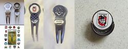 Nrl Golf - Official Divot Tools Or Hat Clips - Storm - Souths. Dragons Eels