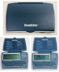 Franklin Merriam Webster Electronic Dictionary Thesaurus Mwd-1450 W Spanish Card
