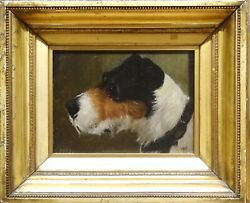 19th Century English Dog Portrait Of