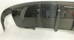 For Audi A5 S-line Real Carbon Rear Diffuser Diffuser Dtm Style To 2011