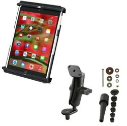Fork Stem Motorcycle Mount Holder w/ Clamping Cradle for Apple iPad mini 1 2 3 4