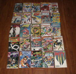 25 Assorted Marvel Comic Books - 30 Years Old