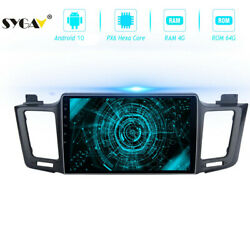 Android 10 Car Stereo For Toyota Rav4 Radio Gps Audio Video Player Head Unit