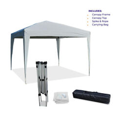 10and039x10and039 Ez Pop Up Canopy Outdoor Dressed Leg Wedding Party Tent Folding Gazebo
