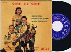 The Swe-danes Side By Side Danish Ep 45ps 1959 Alice Babs Neumann Asmussen Decca