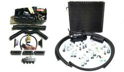 Gearhead Ac Heat Defrost Air Conditioning Compac Kit W/ Compressor Hoses Vents