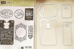 Stampin Up Chalk Talk 6 Clear Mount Stamps And Edgelits Scrapbook Cardmaking