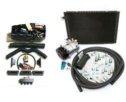 Gearhead Ac Heat Defrost Compac Air Conditioning Kit + Hoses Compressor Fittings