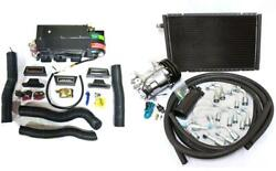Gearhead Mini Ac Heat Defrost Air Conditioning A/c Kit + Compressor And Fittings