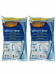 14 Royal Canister Tank Vacuum 99.7 % Micro Filtration Type J Bags Part # 151 $20.48