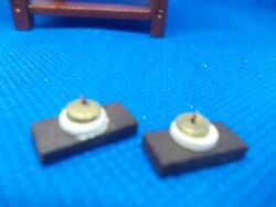 2 Old Fashioned Light Switches For A Dolls House