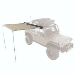 Smittybilt 2784 In Stock Trail Shade Retractable Tent Awning 8.2and039 X 6.5and039